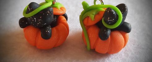 Les boucles «Halloween»
